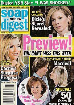 Soap Opera Digest April 4, 2006