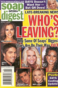 Soap Opera Digest April 5, 2005