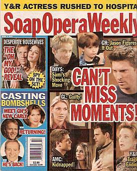 Soap Opera Weekly April 5, 2005