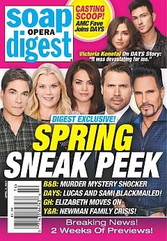Soap Opera Digest April 5, 2021