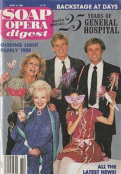 Soap Opera Digest April 5, 1988