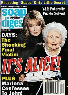 Soap Opera Digest April 6, 2004