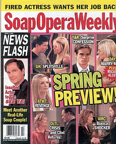 Soap Opera Weekly April 6, 2004