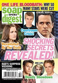 Soap Opera Digest April 6, 2010