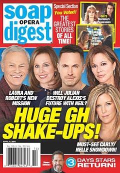 Soap Opera Digest April 6, 2020