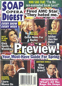 Soap Opera Digest - April 6, 1999