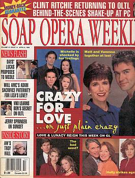 Soap Opera Weekly April 6, 1999