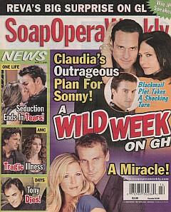 Soap Opera Weekly April 7, 2009