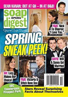 Soap Opera Digest April 7, 2014