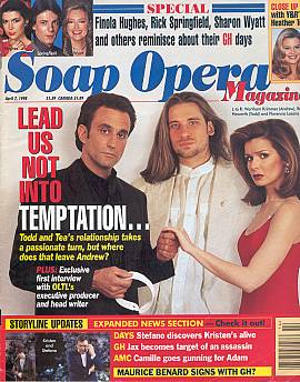 Soap Opera Magazine April 7, 1998