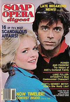 Soap Opera Digest April 9, 1985