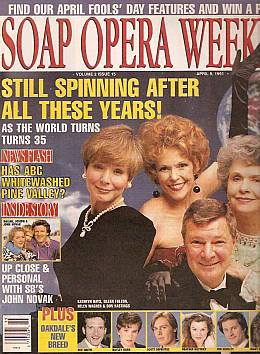Soap Opera Weekly April 9, 1991