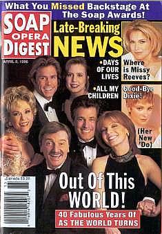 Soap Opera Digest - April 9, 1996