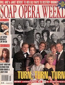 Soap Opera Weekly April 9, 1996