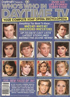 1984 Who's Who In Daytime TV