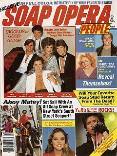 Soap Opera People May 1985