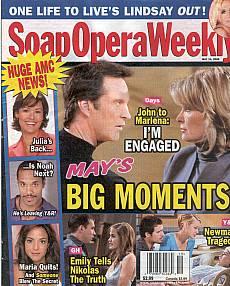 Soap Opera Weekly May 10, 2005