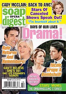 Soap Opera Digest May 10, 2011