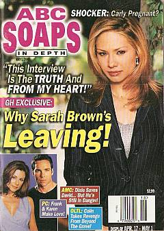 ABC Soaps In Depth May 1, 2001