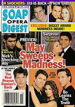 Soap Opera Digest May 1, 2001