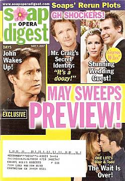 Soap Opera Digest May 1, 2007