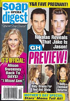Soap Opera Digest May 11, 2015