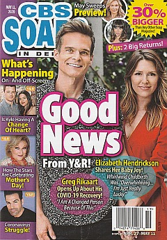 CBS Soaps In Depth May 11, 2020