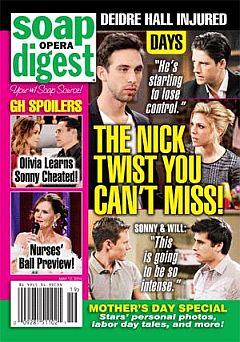 Soap Opera Digest May 12, 2014