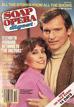 May 12, 1981 issue of Soap Opera Digest