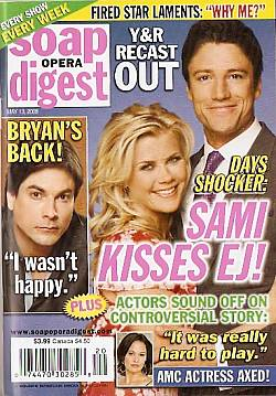 Soap Opera Digest May 13, 2008