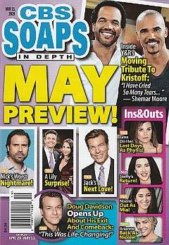 CBS Soaps In Depth May 13, 2019