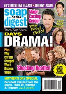 Soap Opera Digest May 14, 2012