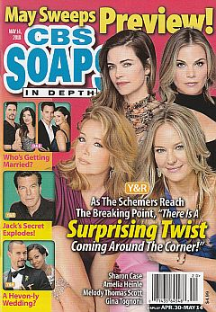 CBS Soaps In Depth May 14, 2018