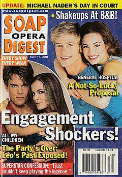 Soap Opera Digest May 15, 2001