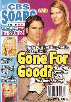 CBS Soaps In Depth May 15, 2007