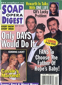 Soap Opera Digest - May 16, 2000