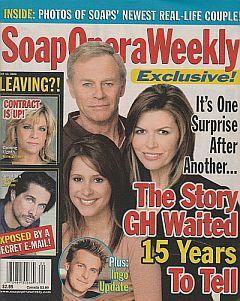 Soap Opera Weekly May 16, 2006