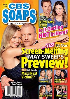 CBS Soaps In Depth May 16, 2016