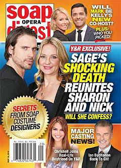 May 16, 2016 issue of Soap Opera Digest magazine