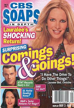 CBS Soaps In Depth May 17, 2005