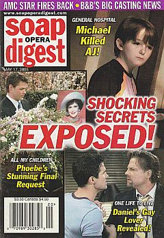 Soap Opera Digest May 17, 2005