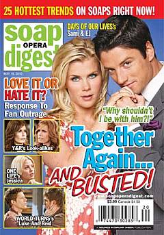 Soap Opera Digest May 18, 2010