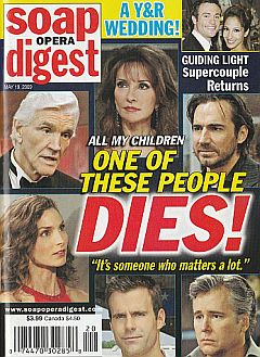 Soap Opera Digest May 19, 2009