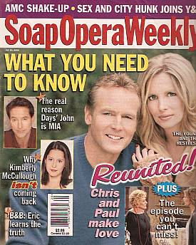 Soap Opera Weekly May 20, 2003