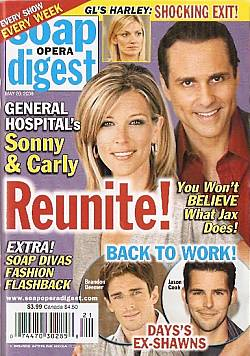 Soap Opera Digest May 20, 2008