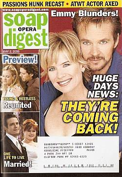 Soap Opera Digest May 2, 2006