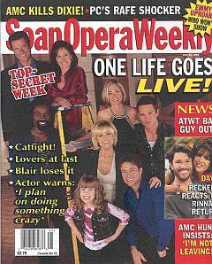 Soap Opera Weekly May 21, 2002