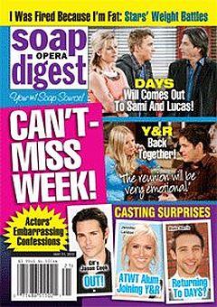 Soap Opera Digest May 21, 2012