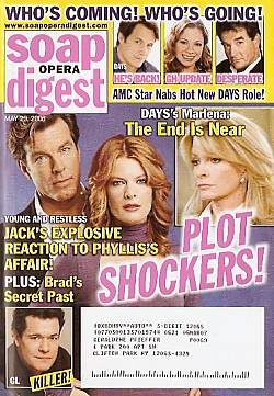 Soap Opera Digest May 23, 2006
