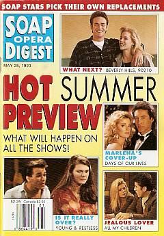 May 25, 1993 Soap Opera Digest